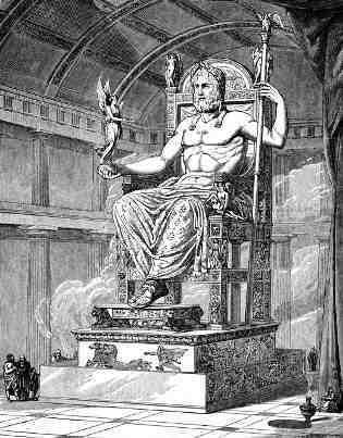 zeus-statue-temple